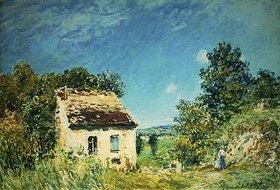 Alfred Sisley: La Maison Abandonée