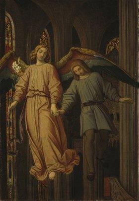 Moritz von Schwind: Der Traum des Erwin von Steinbach