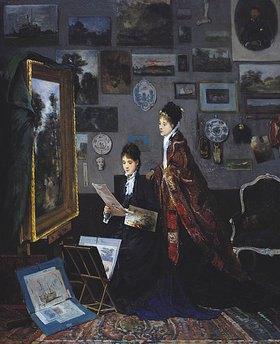 Alfred Stevens: Im Atelier