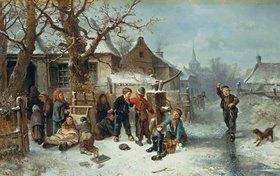 Mari(Johann M.Henri) Ten Kate: Winterfreuden