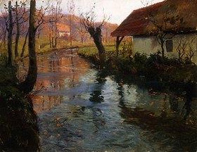 Frits Thaulow: Mühlenbach