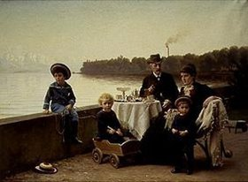 Wenzel Ulrik Tornøe: Die Familie Georg R. Rich