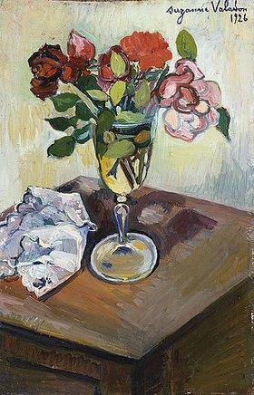 Suzanne Valadon: Rosenstrauss in einem Glas