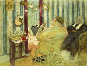 Edouard Vuillard: Sacha Guitry in seiner Garderobe