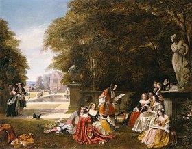 James Digman Wingfield: Gartenfest in Summer-Hill zu Zeiten Charles II