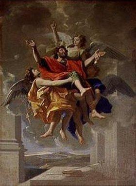 Nicolas Poussin: Die Verzückung des heiligen Paul