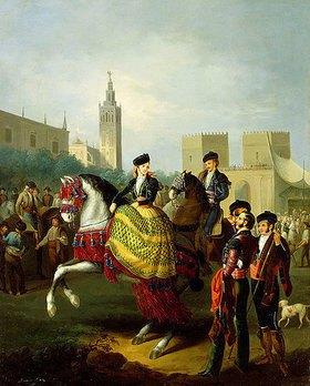 Manuel Barron y Carrillo: Fiesta in Sevilla