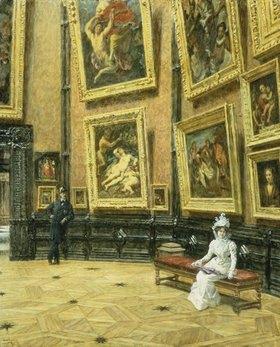 Louis Beroud: Im Louvre