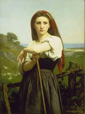William Adolphe Bouguereau: Die Hirtin