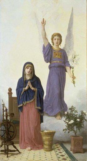 William Adolphe Bouguereau: Verkündigung Mariae