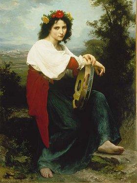 William Adolphe Bouguereau: Italienerin mit Tambourin