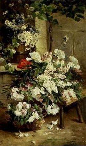 Arthur A Brunel-Neuville: Ein Blumensortiment