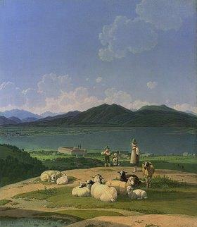Wilhelm von Kobell: Blick auf den Tegernsee