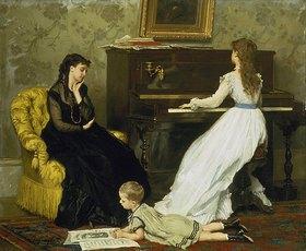 Gustave Léonhard de Jonghe: Musikstunde