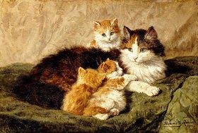Henrietta Ronner-Knip: Katzen