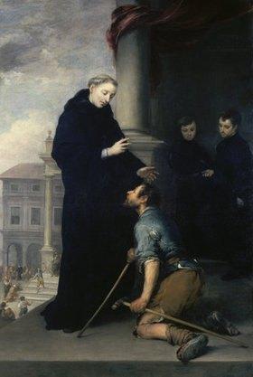 Bartolomé Estéban Murillo: Der hl.Thomas von Villanueva heilt einen Kranken
