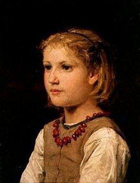 Albert Anker: Mädchenbildnis