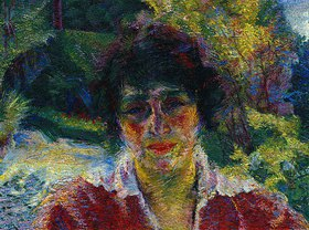 Umberto Boccioni: Bildnis der Armida Brucky