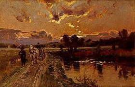 Otto Strützel: Abendsonne