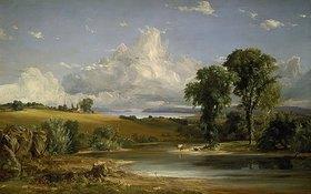 Jasper Francis Cropsey: Sommernachmittag über dem Hudson