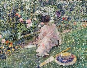 Frederick Karl Frieseke: Garten im Juni