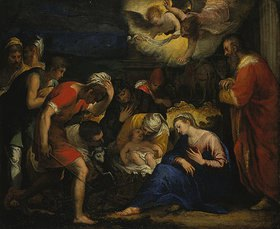 Johann Rottenhammer: Die Geburt Christi (Anbetung der Hirten)