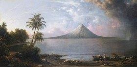 Martin Johnson Heade: Der Vulkan Omotepe in Nicaragua