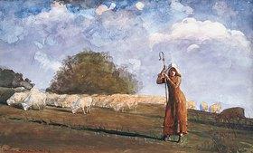 Winslow Homer: Die junge Schafhirtin