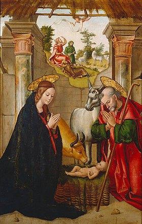 Juan de Borgona: Die Geburt Christi