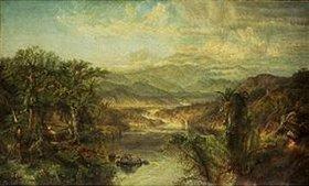 Edmund Darch Lewis: Tropische Landschaft