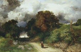 Thomas Moran: Herbststurm (Amagansett, L.I.)