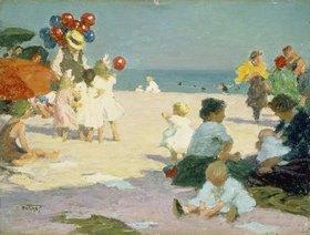 Edward Henry Potthast: Strandleben