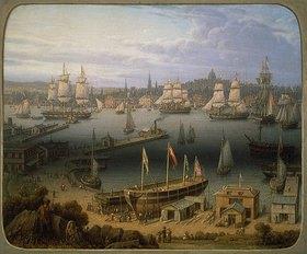 Robert Salmon: Der Hafen von Boston