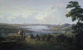 Robert Salmon: Blick auf Dunbarton und den Clyde