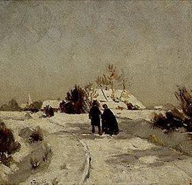 Otto Modersohn: Neujahrstag