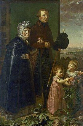 Philipp Otto Runge: Die Eltern des Künstlers