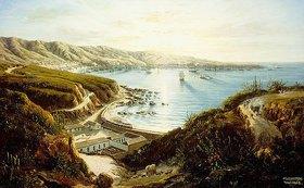 Ernesto Charton: Blick auf Valparaiso