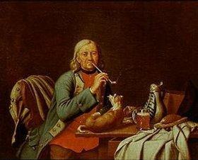 Peter Jakob Horemans: Der Pfeifenraucher