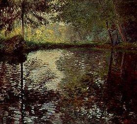 Claude Monet: Teich im Park von Montgeron