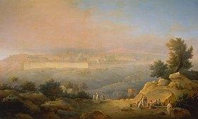 Maxim Nikiforowitsch Worobjew: Blick auf Jerusalem