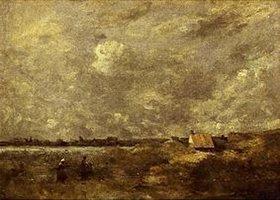 Jean-Baptiste Camille Corot: Unter wolkenverhangenem Himmel