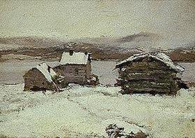 Alexejew. Konstantin Korovin: Winter in Lappland