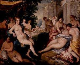 Johann Rottenhammer: Diana und Callisto mit Nymphen