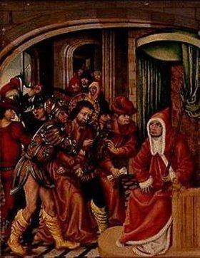 Süddeutsch: Christus vor Kaiphas