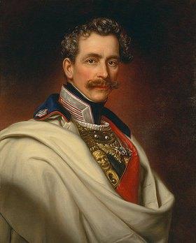 Joseph Bernhardt: Bildnis des Prinzen Karl von Bayern (1797-1875)