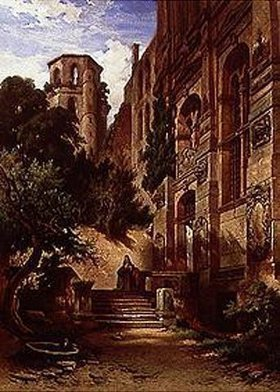 Albert Emil Kirchner: Heidelberger Schloss