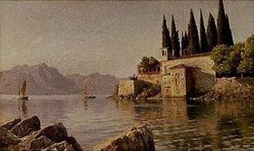 Peder Moensted: Lago Maggiore mit Punta San Vigilio