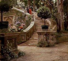 Peder Moensted: Im Park der Villa d'Este