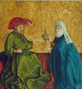 Konrad Witz: Die Königin von Saba vor Salomo