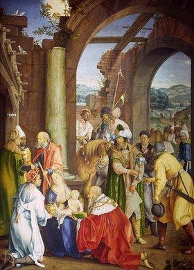 Hans (Suess) von Kulmbach: Die Anbetung der Könige